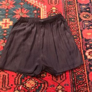 Like New Silk Shorts by American Vintage